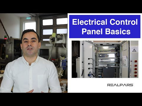 Reviewing The Basics Of An Electrical Control Panel (Practical Example)