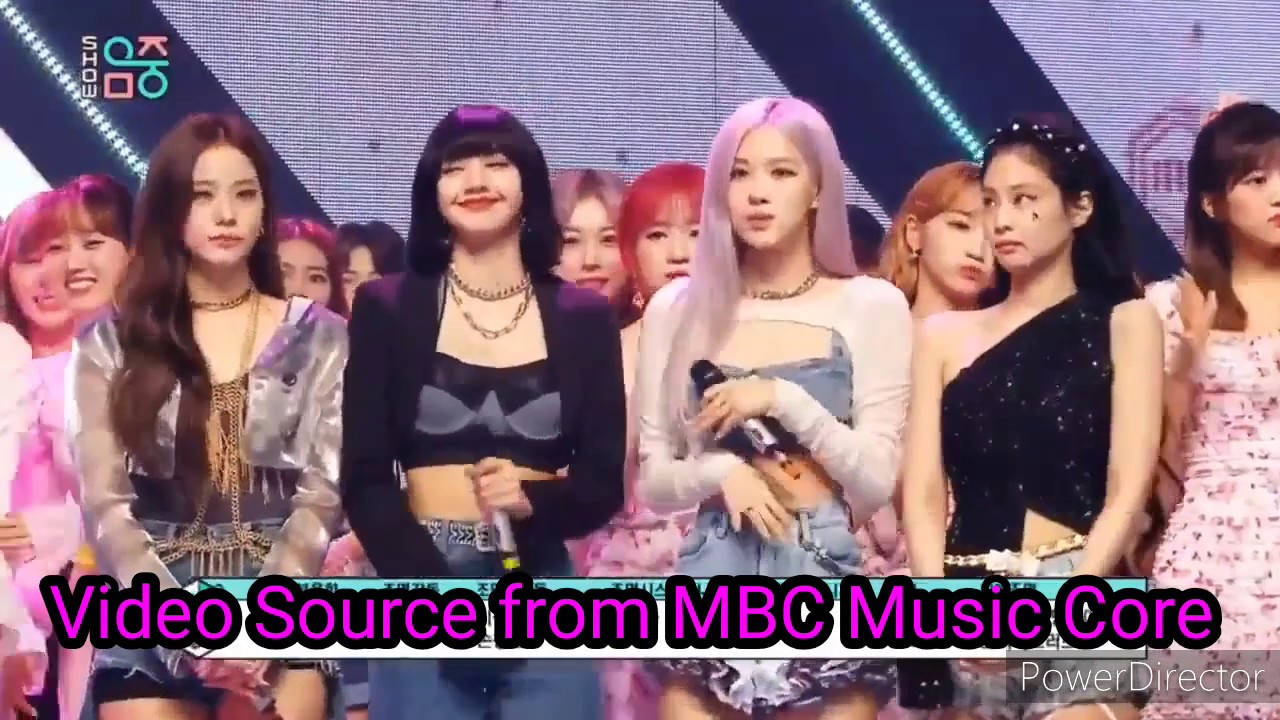 No Win Blackpink How You Like That Mbc Music Core Youtube