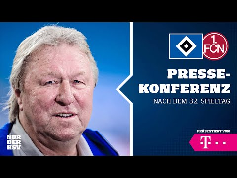 LIVE: Die PK nach dem 32. Spieltag gegen den 1. FC Nürnberg