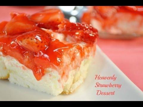Heavenly Strawberry Dessert Recipe | RadaCutlery.com