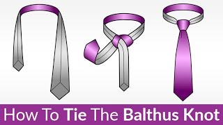 balthus knot how to tie   easily tying this unique casual knot   tie a tie video tutorial