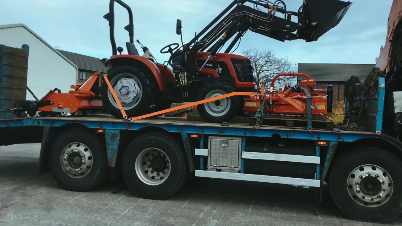 SIROMER 254CH and front loader