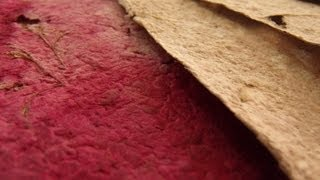 How to Make Handmade Paper (Tutorial-DIY)