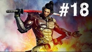 Metal Gear Rising Revengeance Gameplay Walkthrough Part 18 - Jetstream Sam Boss - Mission 7