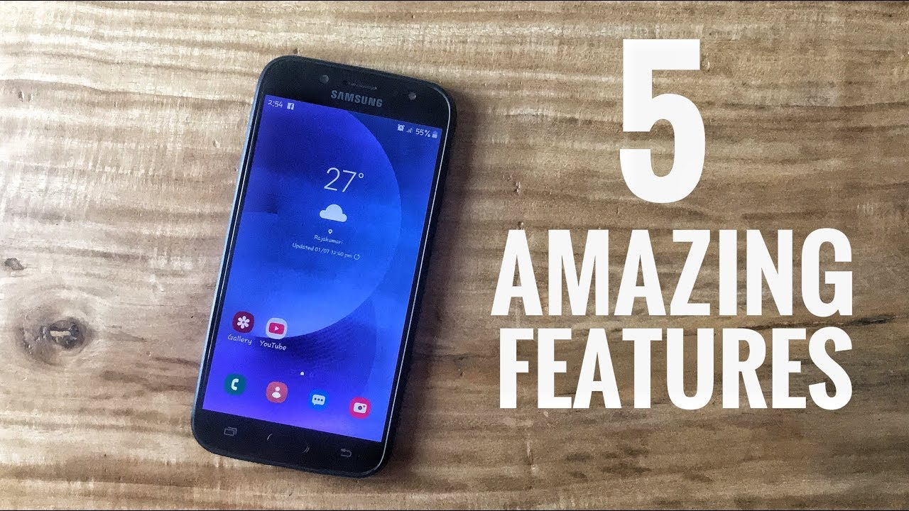 Samsung Galaxy J7 Pro Android Lollipop Videos - Waoweo