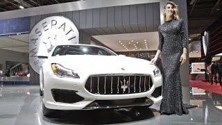 2017 Maserati Quattroporte GTS GranSport - Interior and Exterior Walkaround