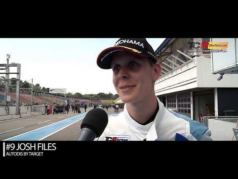 2019 Hockenheim, TCR Europe & Benelux Round 3. Interview with race winner Josh Files