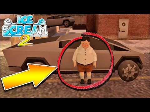 🍦 Новый Фургон Мороженщика Рода Tesla Cybertruck - Ice Scream Episode 2 Айс Крим 2