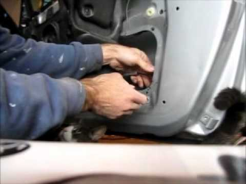 BMW 325i Door Lock Actuator Removal & Installation - YouTube