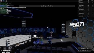 lilsavsupreme Vs moneymaneq | Impact Wrestling Roblox 2019 |
