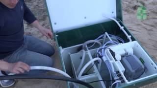Автономна каналізація BioDeka 5 П-800 (монтаж, опис принципу роботи станції очистки)