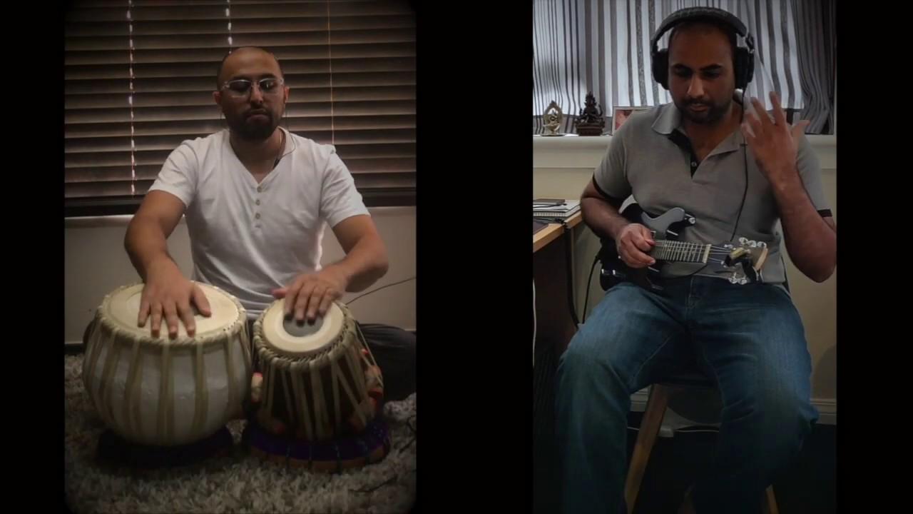 Nagumomu   Jiya Re Mashup (Abheri / Bhimpalasi) - Mandolin Prakash & Vivek Parshotam