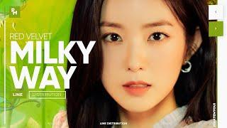 Red Velvet - Milky Way | Line Distribution