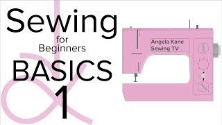 AK الخياطة للمبتدئين - الأساسية تقنيات الخياطة - الجزء 1