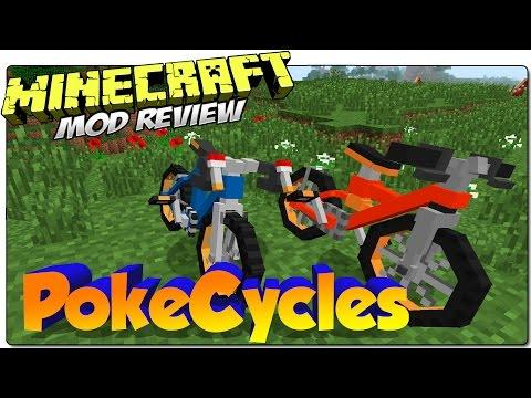 Pokecycle - Велосипеды из Покемонов [1.7.10] [1.6.4 ...