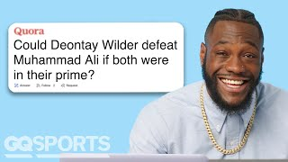 Deontay Wilder Goes Undercover on Reddit, YouTube and Twitter | GQ Sports