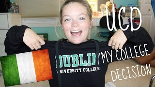 My College Decision Process || University College Dublin thumbnail