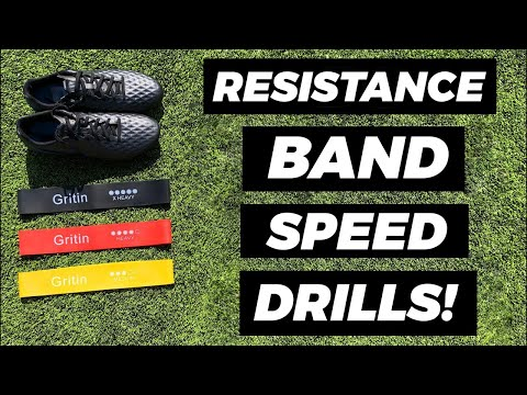 Resistance Band Training Drills (Speed)