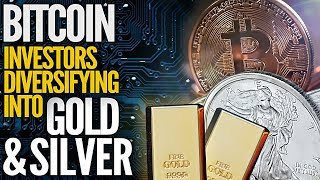 This Amazing Chart Shows Bitcoin Investors Diversifying Into Gold & Silver - Mike Maloney