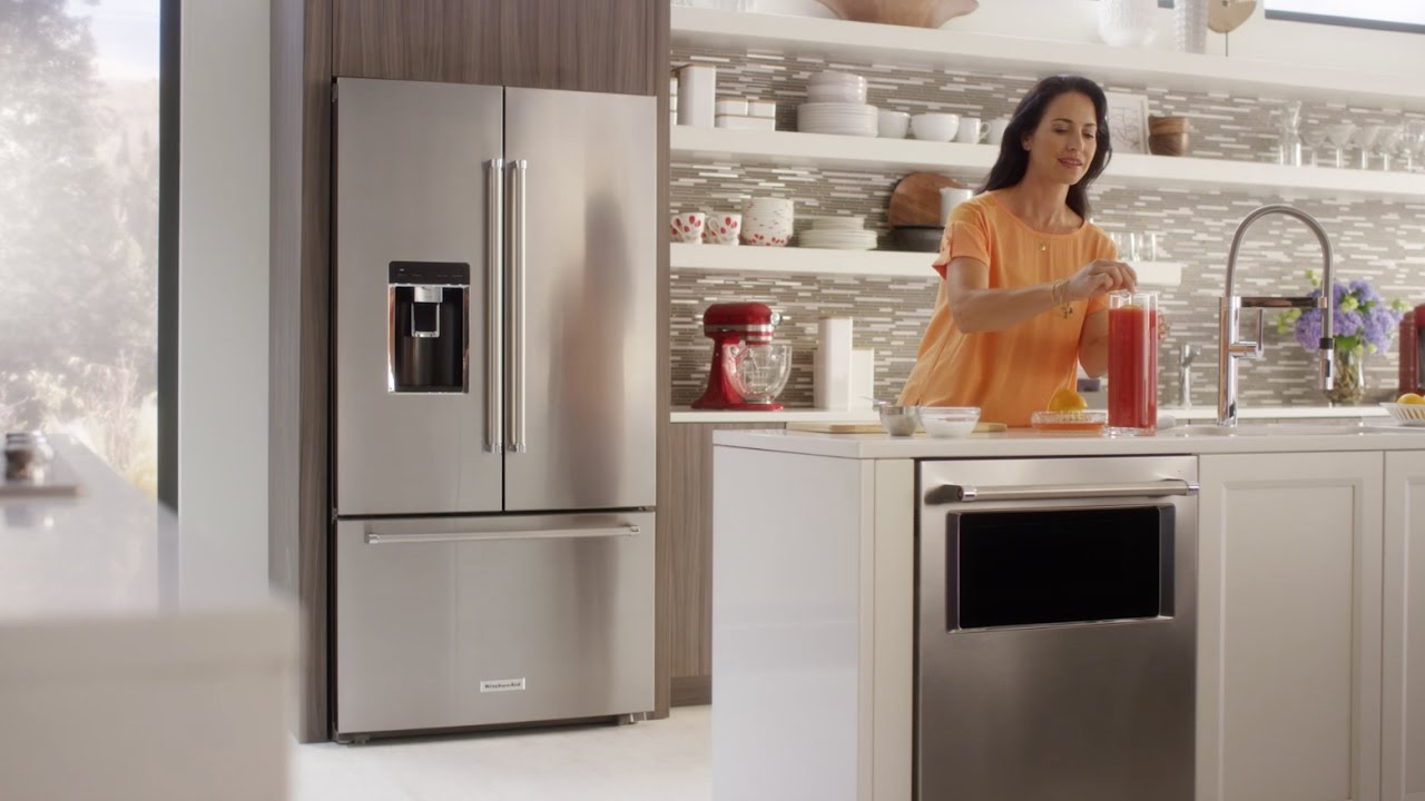 Charmant Counter Depth French Door Refrigerator | KitchenAid