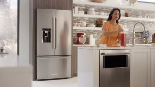 Counter-depth French Door Refrigerator | Kitchenaid