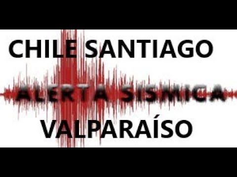ADVIERTEN TERREMOTO PARA SANTIAGO Y VALPARAÍSO DE CHILE.