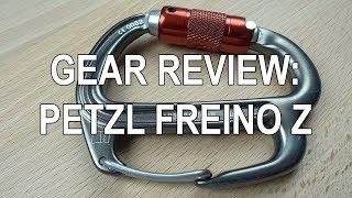 New Petzl Freino Z Carabiner