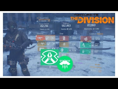"""The Division l 1.8 """"PRED KILLER (FINAL MEASURE)""""BEST WAY TO BUILD A FINAL MEASURE HYBRID!!!!!!"""