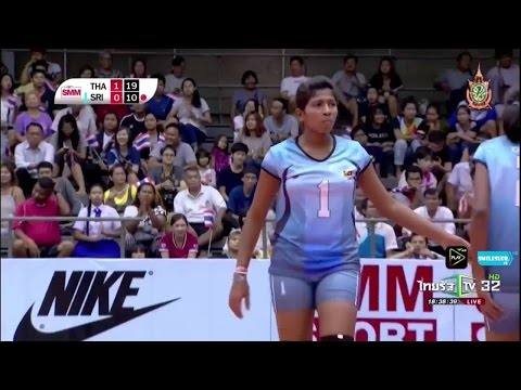 [ Highlight ] Thailand - Sri Lanka  2016 Asian Junior Women's Volleyball Championship