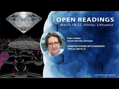 "Fedor Jelezko ""Quantum sensing with diamonds """