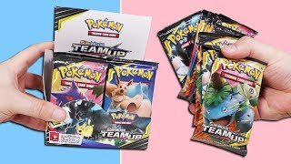 Opening a Pokemon Team Up Booster Box! (36 Packs)