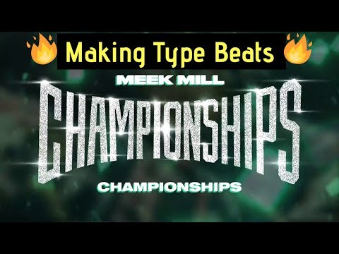 Making A Meek Mill Type Beat   Trapping Classic Samples In FL Studio 20