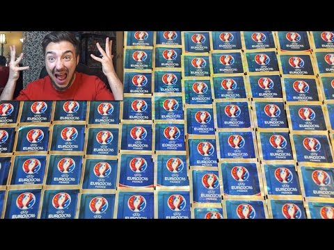 Ouverture de 100 Pack Panini FOOTBALL EURO 2016 ! MEGA OPENING FIFA PACK !