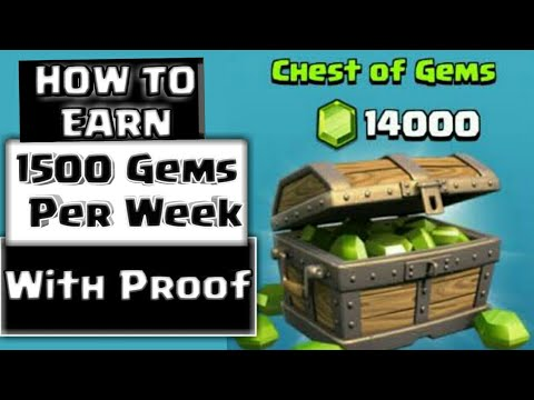 Get Free Gems in Clash of Clans | Earn 1500 Gems per Week