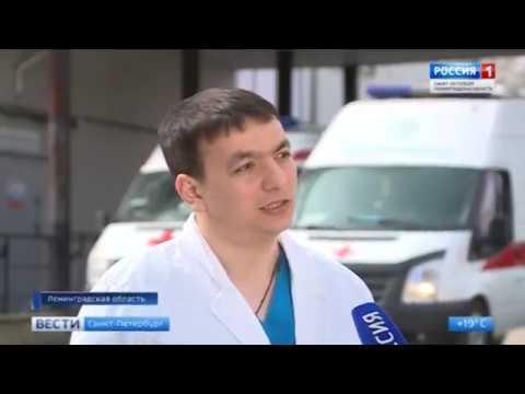 Работа скорой помощи Всеволожского р-на в летний период.