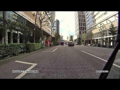 Rush-hour commute through Tokyo (uncut)