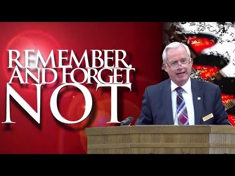 Sidney White  - Remember and Forget Not Deuteronomy 9:7