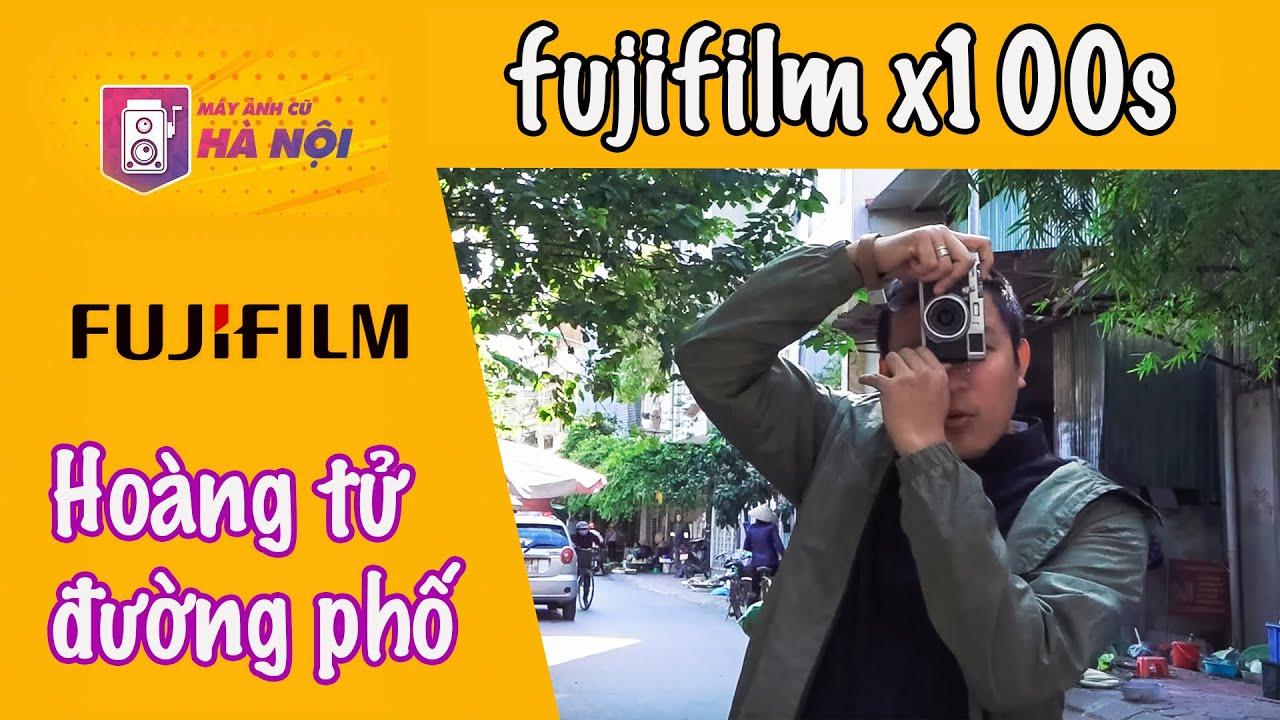 Fujifilm X100s ✅Máy ảnh du lịch cảm biến lớn- Máy ảnh cũ Hà Nội