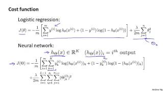 Machine learning W5 1 Cost Function