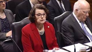 Feinstein on Sessions nomination
