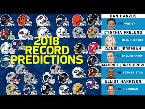 Predicting Every Team's Record For 2018 Season   NFL