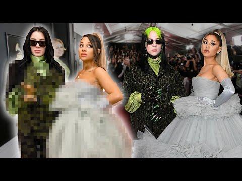 Recreating Billie and Ariana's 2020 Grammy Looks CHALLENGE