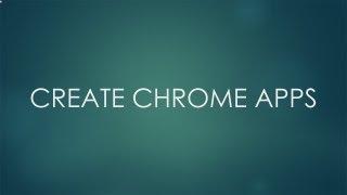 Wie die Chrome-Apps Erstellen - Video-Tutorial