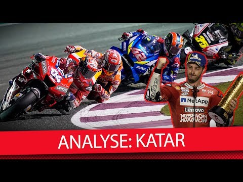 Marquez vs. Dovi reloaded! - MotoGP 2019 Katar (Analyse)
