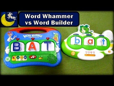 LeapFrog Fridge Phonics Word Builder VS Word Whammer