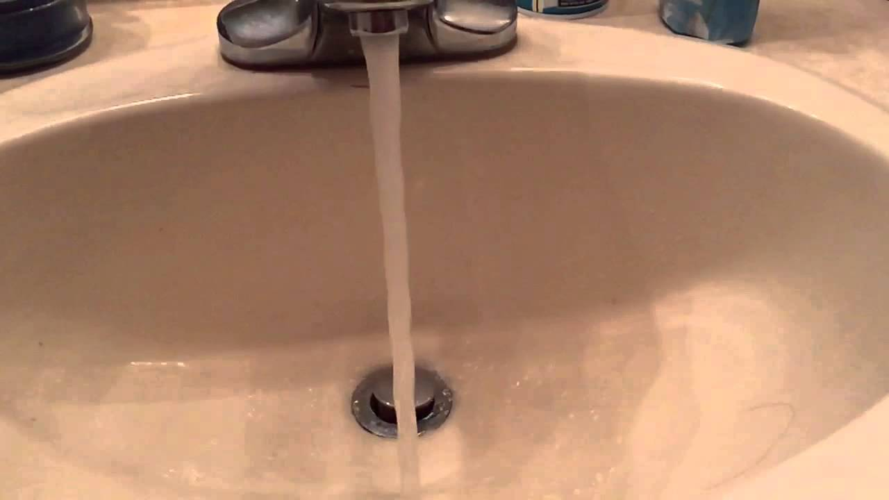 Water coming out of the faucet in slow mo! - YouTube