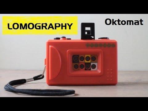Cámara Oktomat Lomography