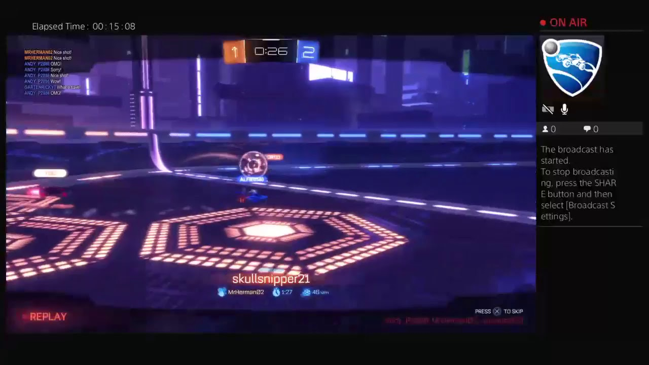 1st live steam Rocket League - YouTube