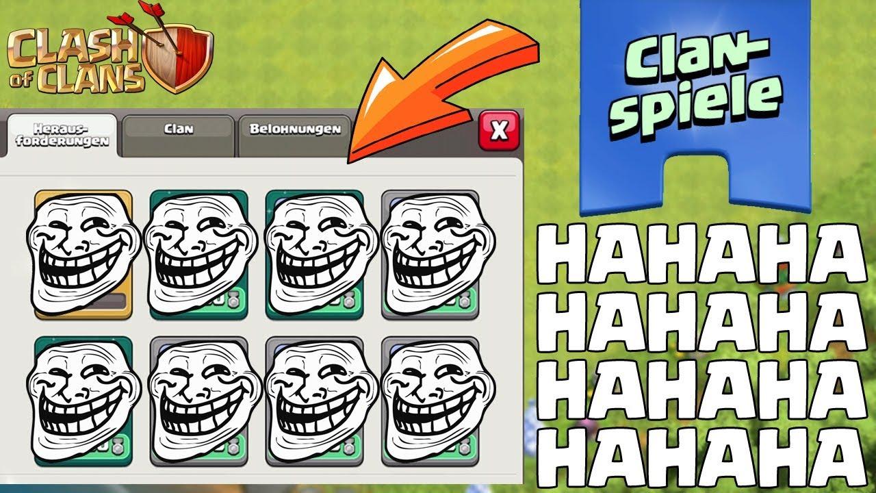 Ich Trickse Die Clanspiele Aus Clash Of Clans Coc Youtube