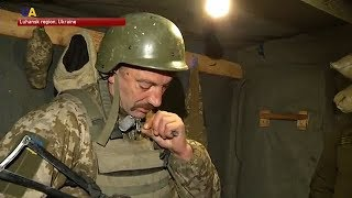 Father and Son Fight Together in Donbas
